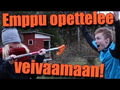 Emppu Opettelee Veivaamaan!