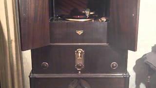 CARLYLE STEVENSON'S BON TON ORCH - I MISS MY SWISS - ROARING 20'S VICTROLA RADIOLA