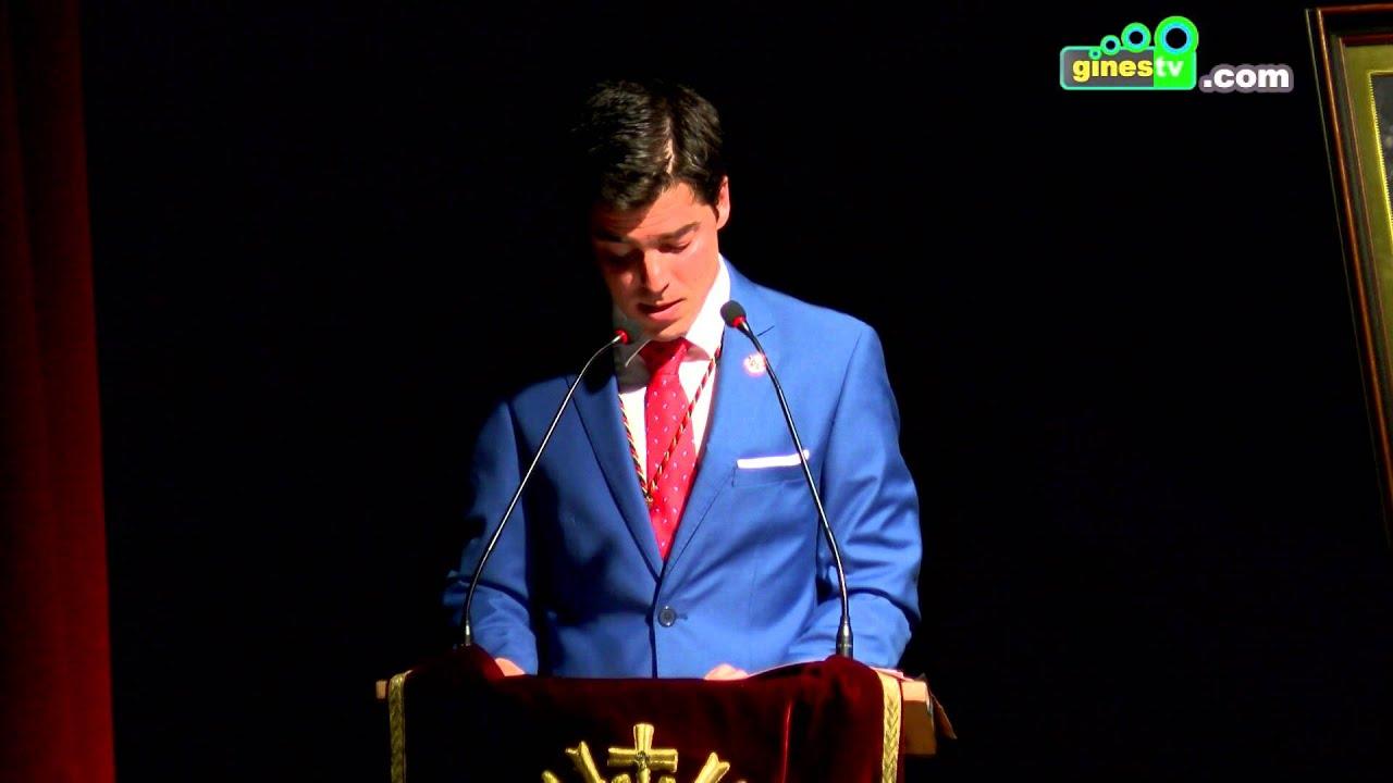 La XIII Exaltación de la Semana Santa de Gines corrió a cargo de José Herrera Oliver