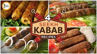 4 Seekh Kabab Recipes By Food Fusion (Ramzan Special Recipes)