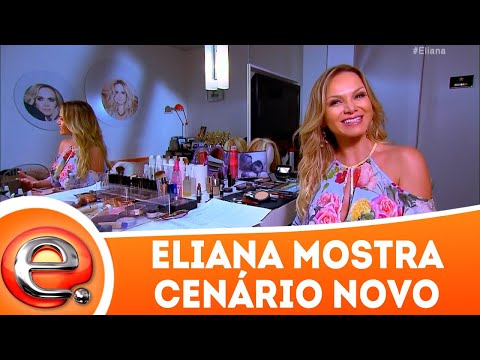 Eliana apresenta cenário novo | Programa Eliana (01/04/18)