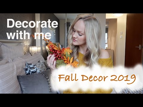 Fall Decor 2019 || Decorate for Fall With Me! || Cozy Autumn Vibes