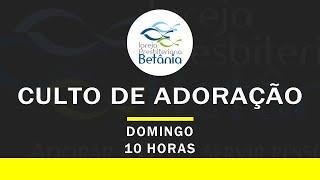 Culto Dominical (Manhã) - 18/10/2020