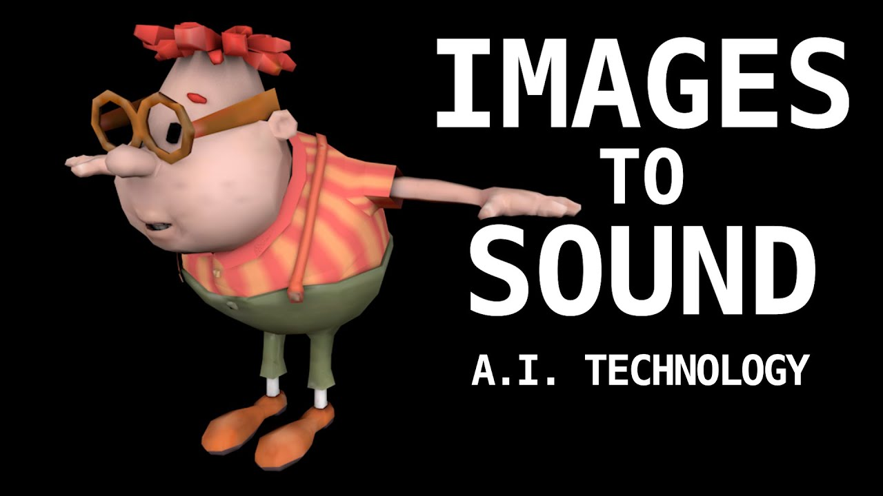 Jimmy Neutron characters as sounds (A.I. technology)