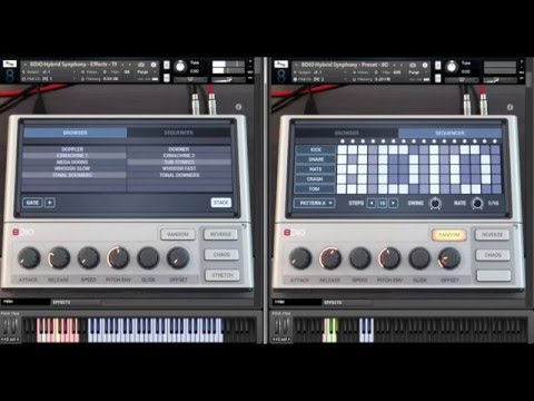 """8Dio Hybrid Tools Synphony: """"Effects & Drums"""""""