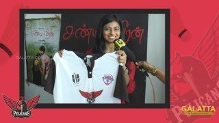 Kayal Anandhi wishes CRV Pelicans badminton team