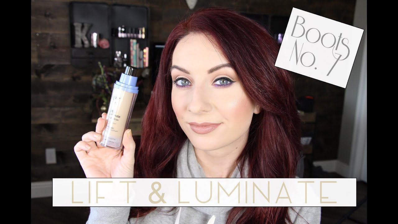 Boots No 7 Luminate Lift First Impressions Demo