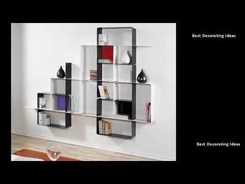 Wall Shelving Units Contemporary