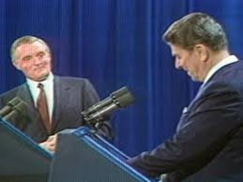 Reagan - Mondale slug it out.
