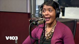 ATL Mayor Keisha Lance Bottoms On The Frank & Wanda Show! - V-103
