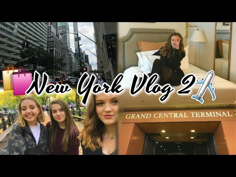 Hotel Room Tour & Shopping on 5th Avenue! - NYC Vlog 2 | BeautySpectrum