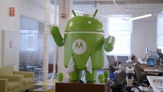 Taking a tour of Motorola Headquarters