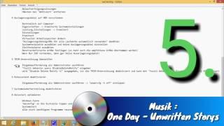 SSD nach Windows Installation, Richtig Konfigurieren in 9 Schritten  [HD]