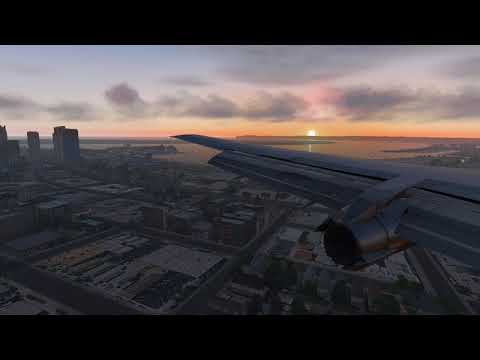 Visual Approach into San Diego  