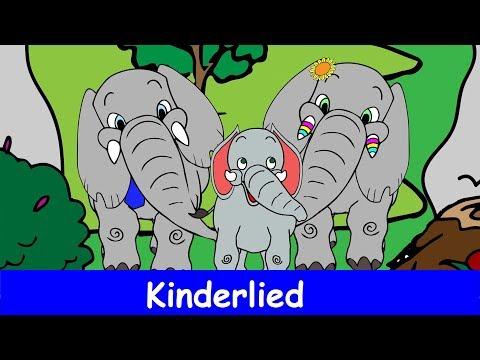 Was müssen das für Bäume sein - Kinderlieder zum Mitsingen - Sing mit YleeKids