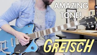 Gretsch 2622T Streamliner RIVIERA BLUE Demo/Review! | Amazing Tone!
