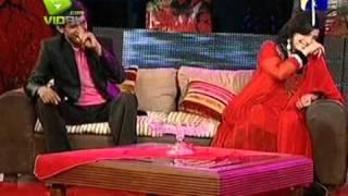 Shabnam Majeed , Waheed Majeed & Asghar Ali Khan in The Sahir Show P-3