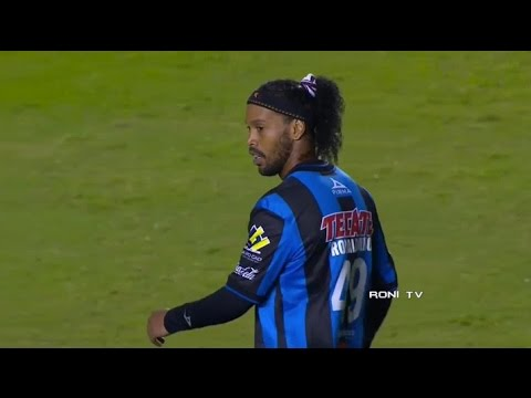 Ronaldinho vs Santos Laguna - 30/01/2015 - 720p HD - Roni Tv