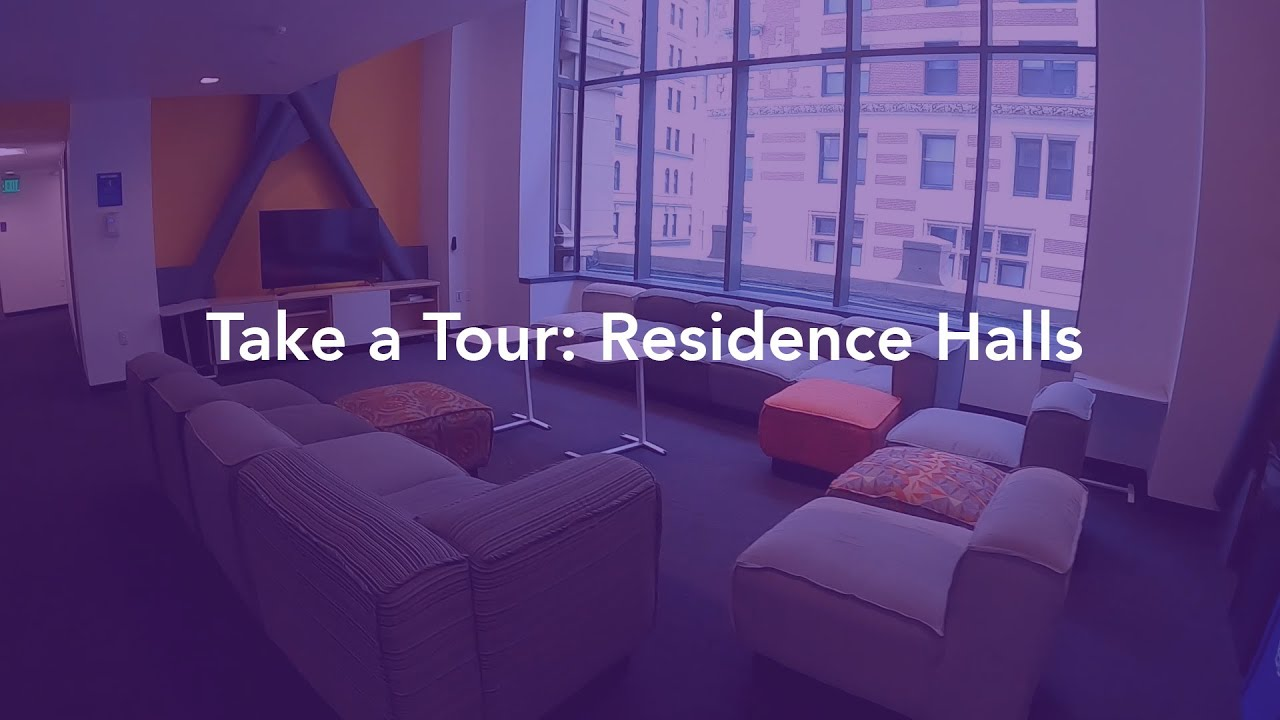 Take A Tour Residence Halls Youtube