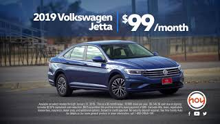 2019 Jetta S $99/mo Auto Lease Special - January 2019