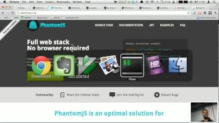 Intro to PhantomJS and CasperJS