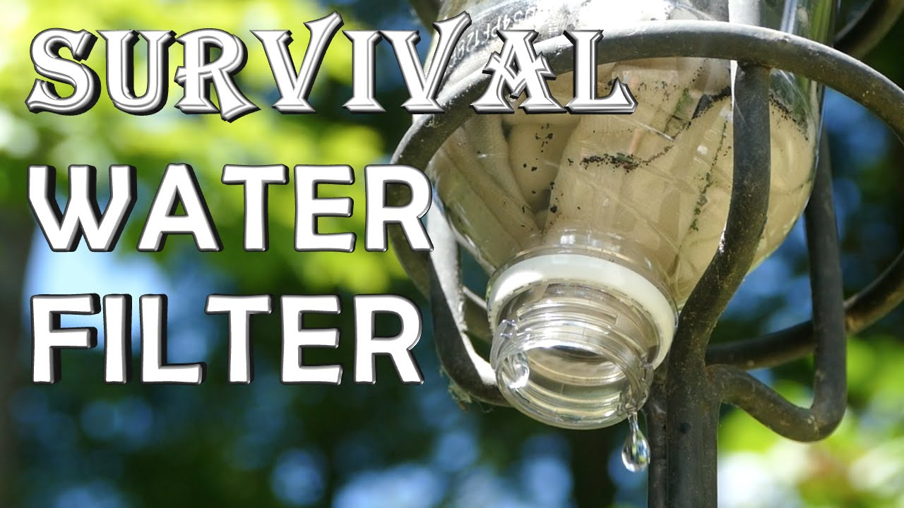 How To Make A Survival Water Filter Quick Build Youtube