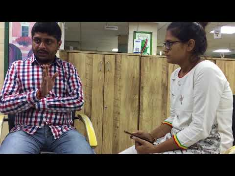 Vlog- Interview of Online Journalist Mr. Raja Upadhyay