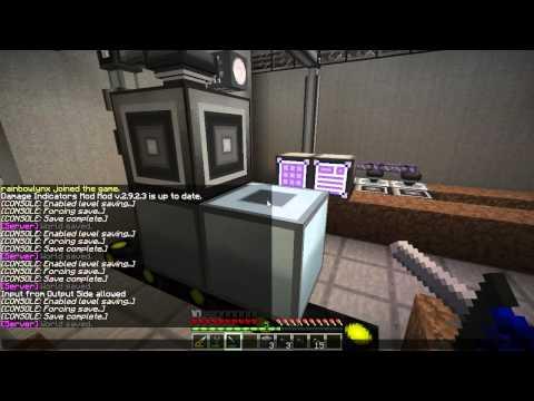 Minecraft #06 Гайд по GregTech и кросс-мод взаимодействию: Автоматическая переработка и прекрафт