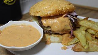 la mejor salsa para hamburguesa / receta casera