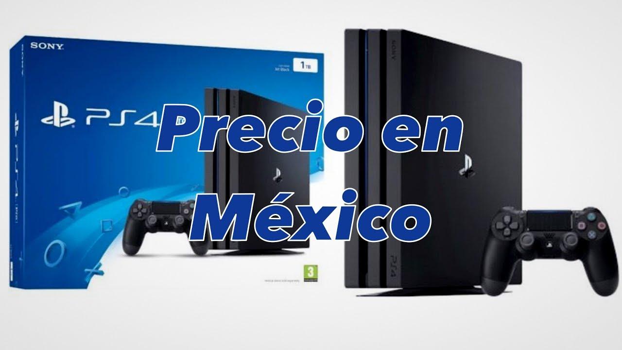 Consola Playstation 4 precios para mexico 2018