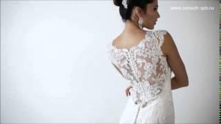 Свадебное платье кружевная спина ❤