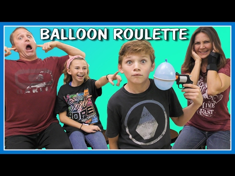 CRAZY BALLOON ROULETTE CHALLENGE | WE ARE THE DAVISES