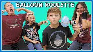 We did the balloon roulette challenge where whoever messes up durin...