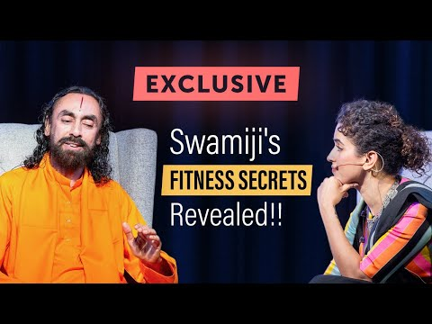 Swamiji's Fitness Secrets REVEALED !! - Staying Fit at 58 Traveling All Over the World