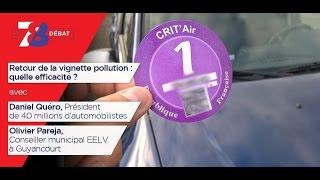 """7/8 Le débat – """"Crit'Air"""", une nouvelle vignette pour quoi faire ?"""