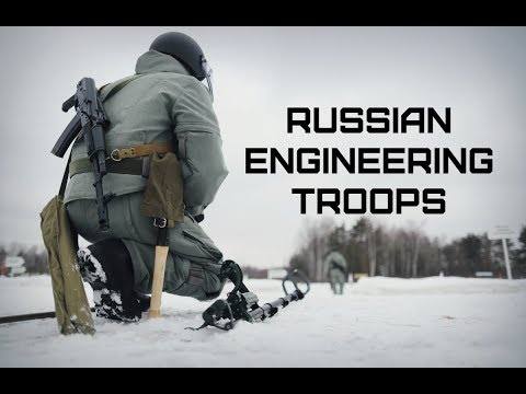 Russian Engineering Troops Always Ready For Some Action!