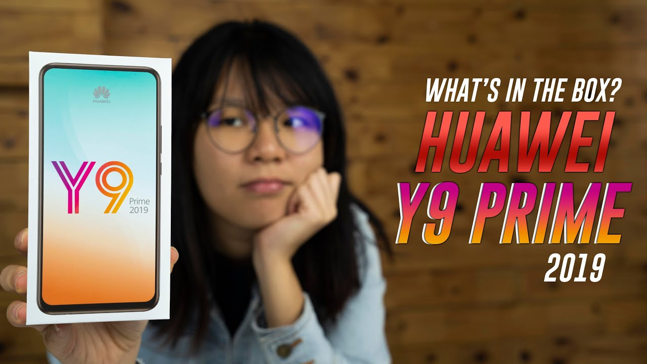 Huawei Y9 Prime 2019 unboxing & hands-on