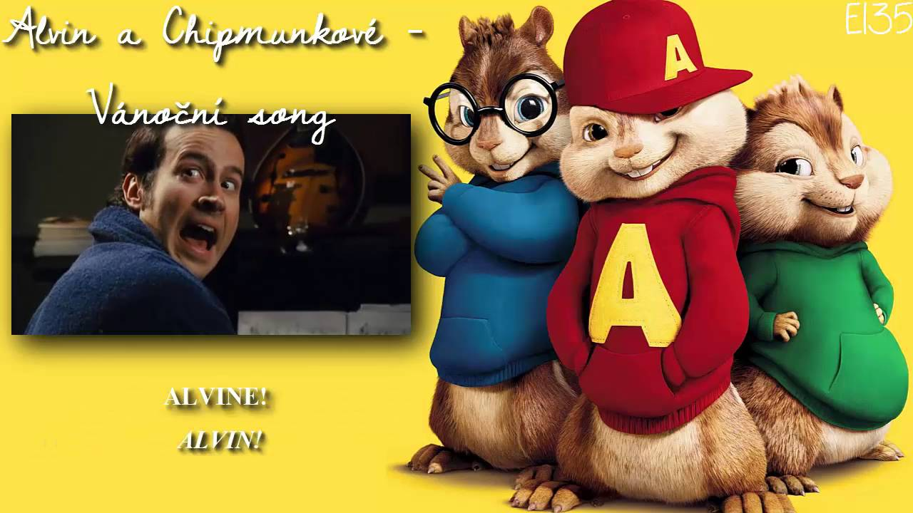 alvin and the chipmunks christmas song czech w st youtube - Alvin And The Chipmunks Christmas Songs