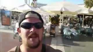 British Racist Prick in Tenerife Spain