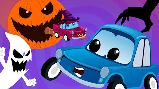 Zeeks Friends Happy Halloween Scary Songs For Kids Rhymes Cartoon Cars