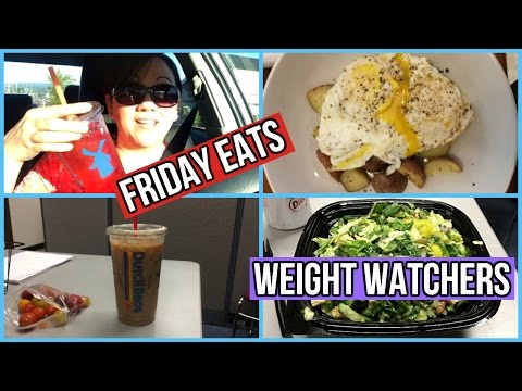 What I Ate | Friday Eats on Weight Watchers |5.19.2017
