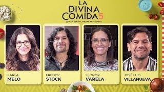 La Divina Comida - Karla Melo, Leonor Varela, Freddy Stock y José Luis Villanueva