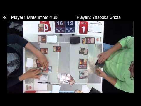 God of Standard R4 Matsumoto Yuki(Burn) vs Yasooka Shota(Burn)