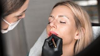 Nie wieder schminken! Permanent Make-Up für Lippen & Augenbrauen