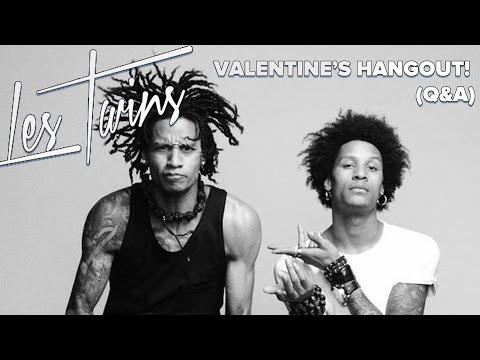 Les Twins 2015 Valentine's Hangout! (Live Q&A)