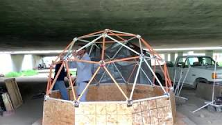 The Dome: A Shelter for a Homeless Friend - by Richard Scott