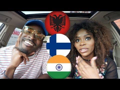 REACTION| ALBANIA vs FINLAND vs INDIA Rap/Hip Hop/RnB/Pop