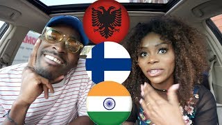 REACTION| ALBANIA vs FINLAND vs INDIA Rap/Hip Hop/RnB/Pop