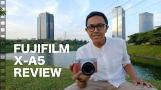 Fujifilm X-A5 mirrorless review (Indonesia)