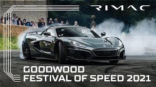 Rimac Nevera at Goodwood Festival of Speed 2021